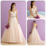 2017 Strapless Lace Beach Wedding Gown Dress (Dream-100008)
