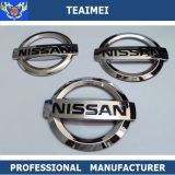 Custom 3D Car Logo ABS Chrome Car Badges Emblems For Sticker