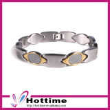 Fashion Stainless Steel Carbon Fiber Bracelet (CP-JS-BL-148)