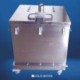 Electrostatic Powder Hopper with Fluidizing Plate