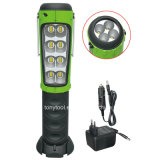 LED Worklight with Flashlight Handheld