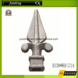 Cast Iron / Steel Spearhead on Iron Gates or Fences Wrought Iron Spear