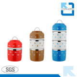 2017 New Design Stainless Steel Thermal Lunch Box for Children
