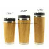 Bulk Supply Natural Double Wall Bamboo Coffee Cup