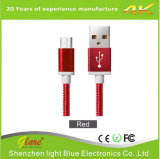 Pass 2.1A Metal Braided 6FT 2m USB Cable