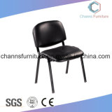 Durable Black Leather Office Meeting Training Chair