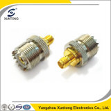RF Coaxial Cable UHF So239 Pl259 Female to SMA Female Right Angle Connector Rg316