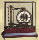 Mystery Water Wheel Ball Bearing Industrial Clock (JG3056-2)