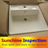 Sink Quality Inspection / Bathroom Appliances Inspection Services