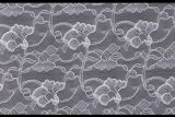 White Fancy Lace Fabric for Woman Cloths (Lca75009)