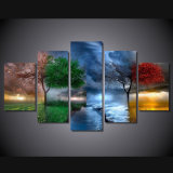 HD Printed Fantasy Nature Painting Canvas Print Room Decor Print Poster Picture Canvas Mc-062