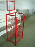 Steel Wire Stand Rack for Display (SLL-V012)