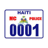 St. Maarten License Plate (JS00128)