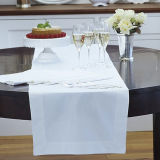 White Hotel Table Runner (DPFR80129)