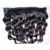 Brazilian Human Hair Weft Natual Color Loose Wave 16inches
