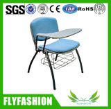 Comfortable Plastic Training Chair with Writing Pad (SF-18F)