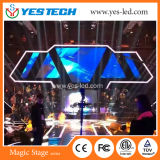 5.7kg Polymer Nanomaterials Cabinet LED Video Hanging Curtain Screen