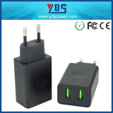 High Quality Dual USB Cell Phone Charger Portable Quick Charger