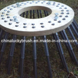 China Manufacture PP Material Wood Plate Side Machine Brush (YY-004)