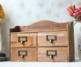 Eco-Friendly Wooden Chic Retro Cabinets in Customized Size and Style