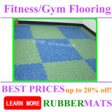Gym Fitness Sports Durable Shockproof Rubber Flooring Mat