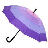 Outside Colourful Straight Umbrella (JY-074)