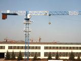 High Quality Self Erecting Flat Top Crane with 6 Ton Qtz63 (PT5013)