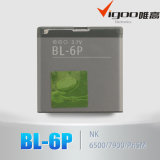 China Manufacturing Bl-6p Mobile Phone Battery, 3.7V Lituium Battery