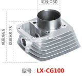 Motorcycle Accessory Motorcycle Cylinder for Lx-Cg100