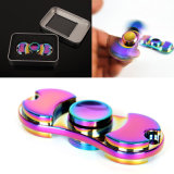 Metal Fidget Spinner Fingertip Gyroscope Colorful Creative Funny Toys Anti Stress Toys for Kids Adult
