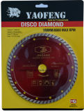 Turbo Diamond Saw Blade for Marble Cutting