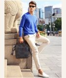 Men′s Cashmere Sweater with V Neck 16brdm006-2