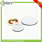 30mm round/disc/coin RFID tags 125kHz sticker