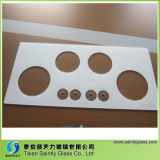 6mm Tempered White Printing Glass Covers for Gas Stove