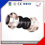 Double Sphere Expansion Joints with Screwed End for Industrial Use