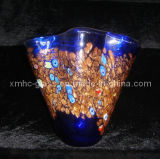 Royalblue Glass Ornament Vase (XMHCV-340)