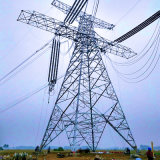 500kv Single Circuit Corner Power Transmission Steel Tower
