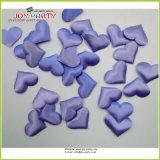 Light Purple Soft Fabric Heart Shape Confetti Marriage Bed Decoration