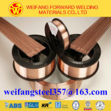 Sg2 15kg/Spool 1.2mm Copper Solid Solder Er70s-6 MIG Welding Wire with CO2 Gas Shield