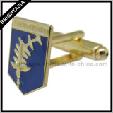 Metal Men Cuff Link for School Academy Emblem (BYH-10431)