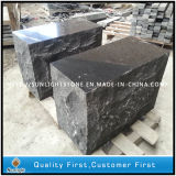 Natural Black Granite Paving Stepping Block Stone G684 for Garden/Patio