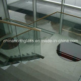 10mm Clear Handrail Toughened Glass with CE Certificate