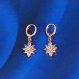 Flower Zircon Earring (23780)