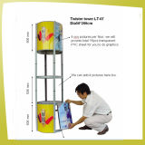 Semicircle Display Case Folding Advertising Promotion Counter (LT-07C)