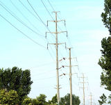 Power Transmission Steel Pole Tower