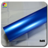 High Quality 1.52*20m Blue Glossy Metalic Pearl Car Vinyl