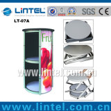 Rotating Aluminum Exhibition Stand Advertising Promotion Table (LT-07A)