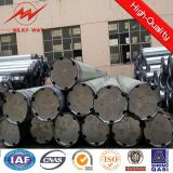 Octognal 220kv 25m Electric Steel Pole Supplier for Africa