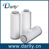 Electronic Grade PP or Glass Fiber Pleated Filter Cartridge