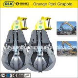Excavator Hydraulic Scrap Orange Peel Grapple for 12-18tons Excavator